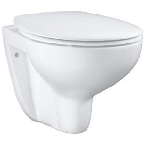Grohe Bau Ceramic Wall-Hung WC Set White