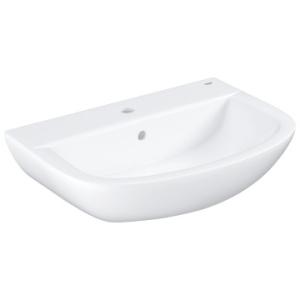 Grohe Bau Ceramic Wall-Hung Basin w/ Overflow 609x442mm White