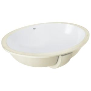 Grohe Bau Ceramic Underslung Basin w/ Overflow 560x420mm White