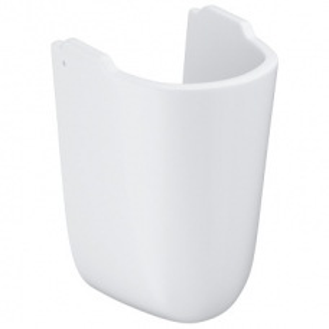 Grohe Bau Ceramic Half Pedestal w/ Fixations White