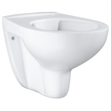 Grohe Bau Ceramic Wall-Hung Rimless Pan w/ Horizontal Outlet White