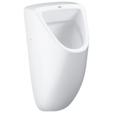 Grohe Bau Ceramic Wall-Hung Urinal w/ Concealed Inlet White
