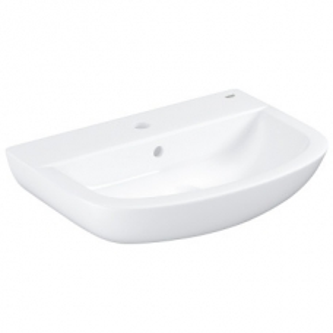 Grohe Bau Ceramic Wall-Hung Basin w/ Overflow 553x386mm White