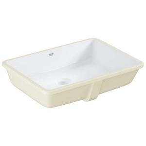 Grohe Cube Ceramic Underslung Basin w/ Overflow 492x370mm White