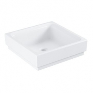 Grohe Cube Ceramic Vessel Basin 40 Alpine White