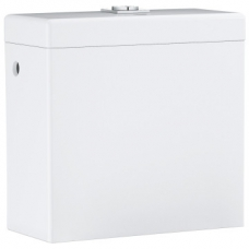 Grohe Cube Ceramic Wall-Hung Close-Coupled Top Flush Cistern White
