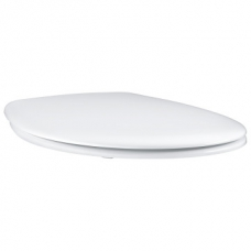 Grohe Bau Ceramic Toilet Seat & Lid w/ Quick Release Function White