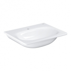 Grohe Essence Ceramic Wall-Hung Basin w/ Overflow & PureGuard 600x485mm White
