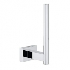 Grohe Essentials Cube Spare Toilet Paper Holder Chrome