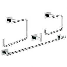 Grohe Essentials Cube Master Accessories Set 4-In-1 Chrome