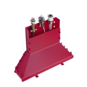 Hansgrohe Basic Set Concealed 3-Hole Bath Mixer