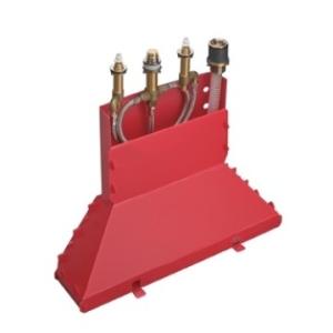 Hansgrohe 4-Hole Basic Set w/ Secuflex Box
