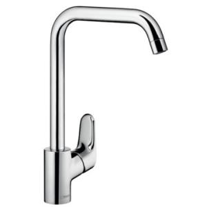 Hansgrohe Ecos Sink Mixer Single Lever L Spout Chrome
