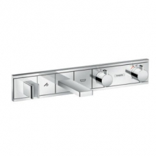 Hansgrohe RainSelect Finish Set for Concealed Installation for 2 Functions Bath Tub Chrome