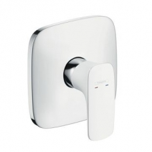 Hansgrohe PuraVida Shower Mixer Concealed White/Chrome