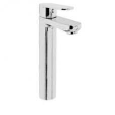 Bordo Round Basin Mixer High Chrome