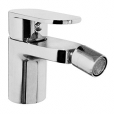 Bordo Round Bidet Mixer & Pop-Up Chrome