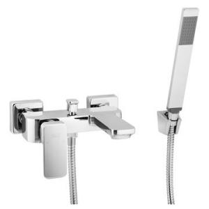 Bordo Square B/Mixer & H/Shower W/T Chrome