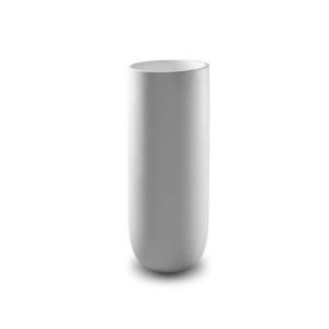 Flow Pillar Basin 400x400x910mm Pearl White - Jee-O