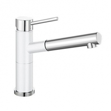 Alta-S Compact Sink Mixer White
