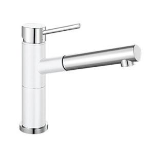 Alta-S Compact Sink Mixer White