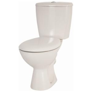 Neon DF Close-Coupled Toilet Suite w/ Elf Seat White