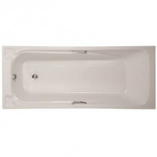 Scarlett Anti Slip Bath With Handles 1700 x 700 x 390mm White