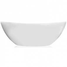 Perlato Bath Freestanding Oval 570x845x1680mm White