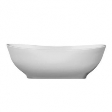 Pietra Bath Freestanding Oval Double-Ended 1680x940x530mm White