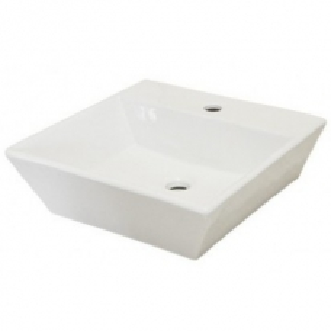 Troye C/Top Basin OK-2644 430 x 435 x 135mm White Didi