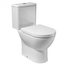 Atis Close-Couple Suite Includes Seat Cistern & Mechanism White Roca