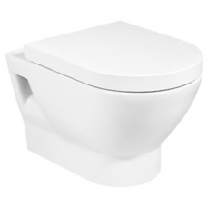 Atis A34H759000 Wall Hung Pan Incl Soft Close Seat Roca
