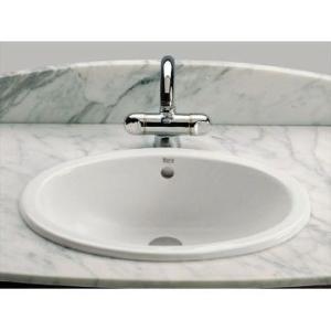 Neo Selene Drop-In Basin Cer 510x95x180mm White Roca