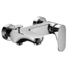 Montella Bath Mixer Wall Type Including Hand shower Chrome CAE