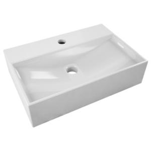 Solo Cyprus Freestanding Basin 450x305x100mm White