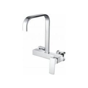Jasper Sink Mixer Wall Type Chrome