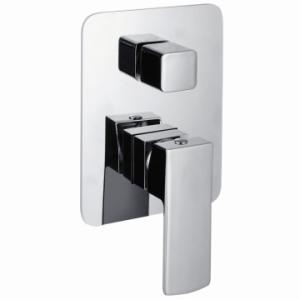 Jasper Bath Or Shower Mixer Undertile + Diverter Chrome