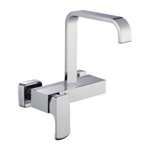 Bijiou Loire Sink Mixer Wall Type Chrome - Bijiou