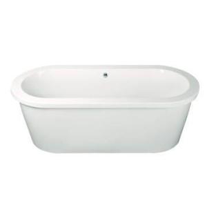 Andorra Bath Surround/Skirt Baths 1770x795mm w/ Plumbing Kit & Legset White