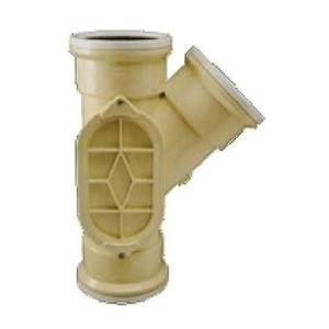 Junction PVC 45Deg RH 110mm UG Rib