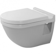 Starck 3 Wall Mounted WC Pan Including Starck 3 Soft Close Seat & Cover White