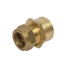 Coupler Compression Red FIxC 22mm x 15mm