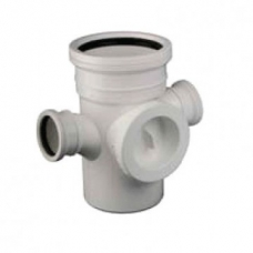 Junction PVC 90Deg IE DBL Reducer 110x50 SV