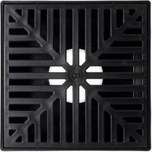 Gully PVC Raindrain Lite Black