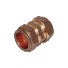 Coupler Compression Str CxC 15mm