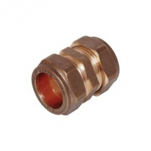 Coupler Compression Str CxC 22mm