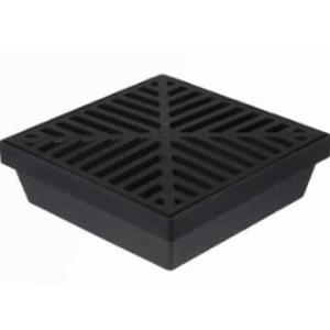 PVC Raindrain Gully Lite Black
