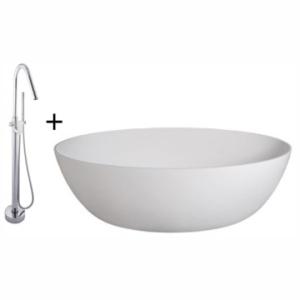 Gabriella Bordo Freestanding Bath and Mixer Combo