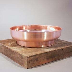 Bauhaus Countertop Basin 450x135mm Copper