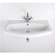 Belle Large Wall-Hung Basin 810x480mmm White
